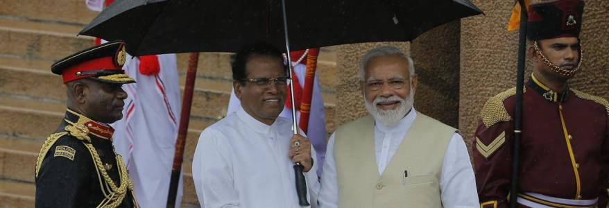 India and Sri Lanka are working together to combat terrorism