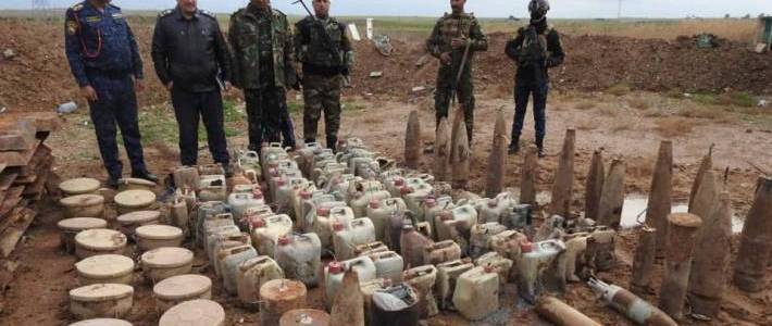 More than 500 Islamic State bombs and IEDs discovered in Kirkuk