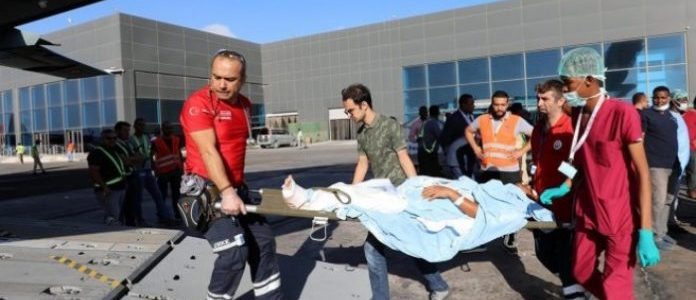 Nine people injured in Somalia terrorist attack flown to Turkey for medical treatment