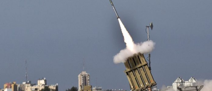 Palestinian terrorists fire mortar shell at Israel