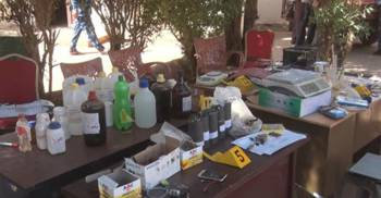 Police authorities raided the second headquarters of terrorist cell