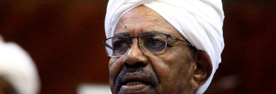 Sudanese ousted president Omar al-Bashir questioned in money laundering and terror financing cases