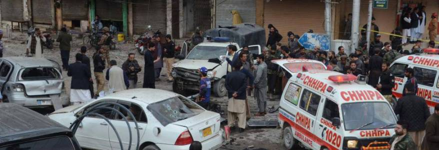 Suicide bomber killed eight people in Pakistan