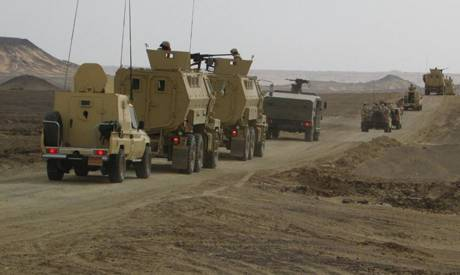 Terrorist attack on a security installation in North Sinai reppeled by the Egyptian Army