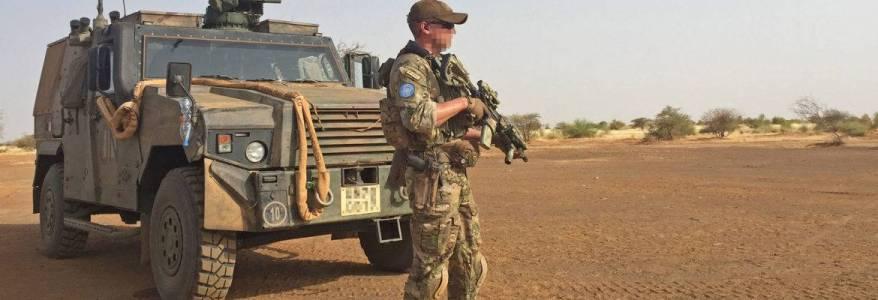 Three Irish soldiers injured in Mali roadside bomb attack