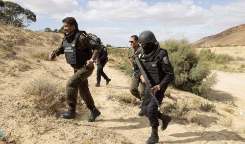 Three terrorist camps discovered in Tunisia's Kasserine mountains