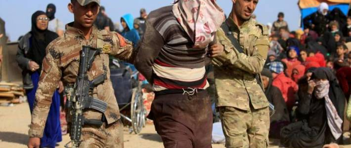 Five Islamic State insurgents captured in south of Mosul