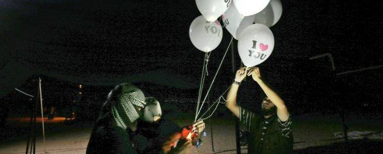 Gaza balloons are bursting terror problem