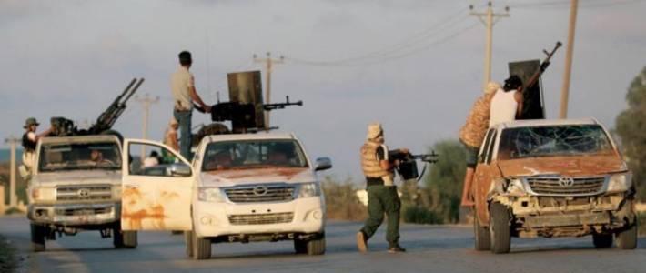 Islamic State terrorists attacked Iraqi Shia militias in Anbar