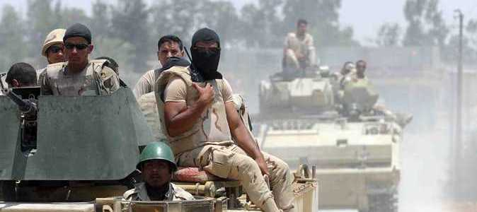 Ten terrorists and army officer killed in North Sinai terrorist attack