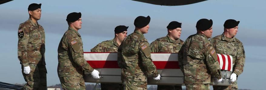 Two U.S. service members killed in eastern parts of Afghanistan