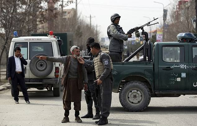 GFATF - LLL - At least 27 people are killed and dozens wounded as gunmen assault political rally in Afghanistan 1