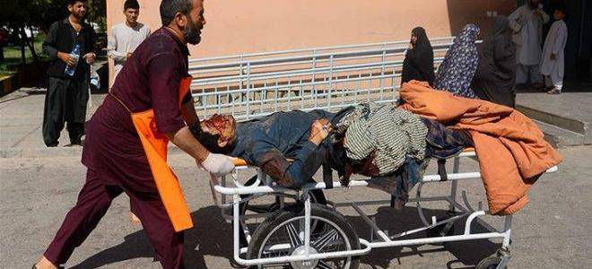 Deadly Islamic State attack aimed at the defensive position of Afghan army forces