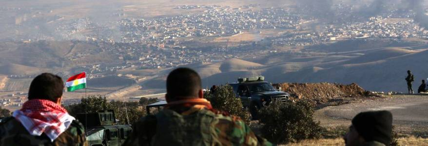 Joint operation starts between Peshmerga and the international coalition against the Islamic State terrorists
