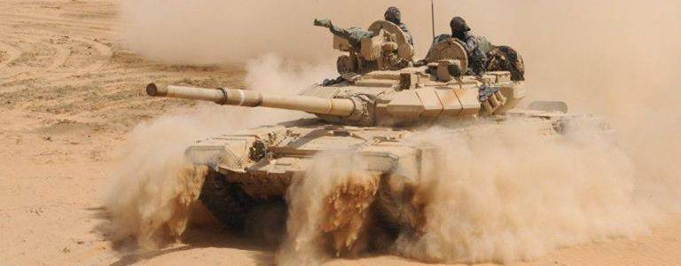 Syrian army launches attack against the Islamic State terrorists in eastern Syria