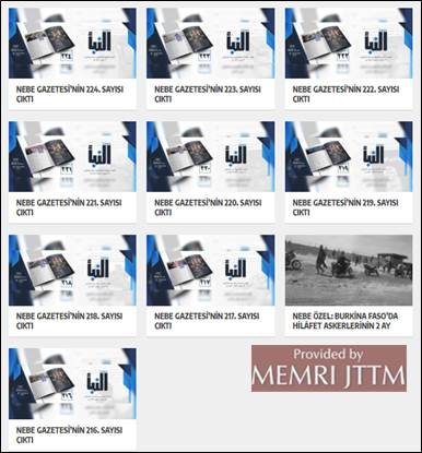 GFATF - LLL - Turkish website posts Islamic State videos, articles and editorials 19