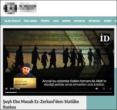 GFATF - LLL - Turkish website posts Islamic State videos, articles and editorials 3