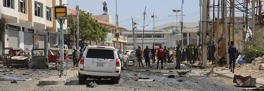 Two Ethiopian soldiers killed in a bomb blast in southern Somalia