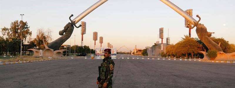 Two rockets landed inside the Baghdad's fortified Green Zone