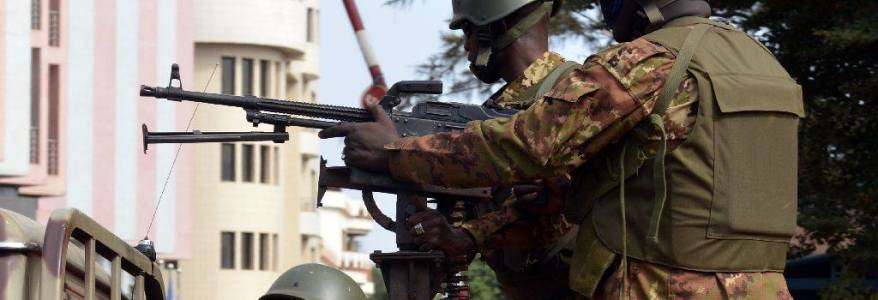 At least twenty Malian soldiers are killed in terrorist attack
