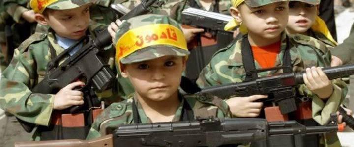 Hamas terrorist group uses children as human shields