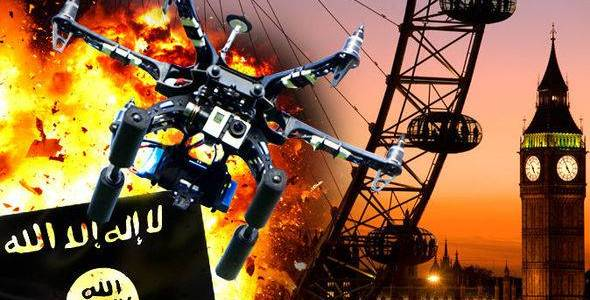 Terrorists may soon be able to use drones for terrorist attacks on the West