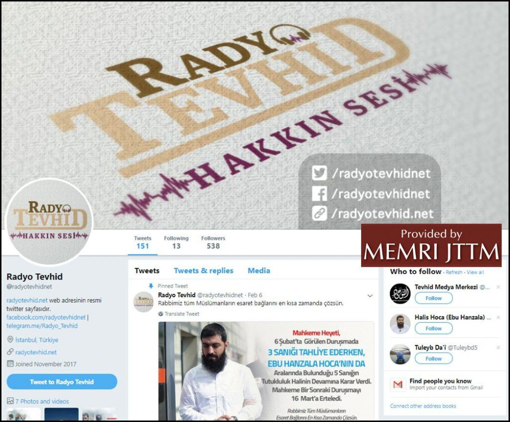 GFATF - LLL - Turkish Islamic State emir continues to operate through dozens of social media accounts 37