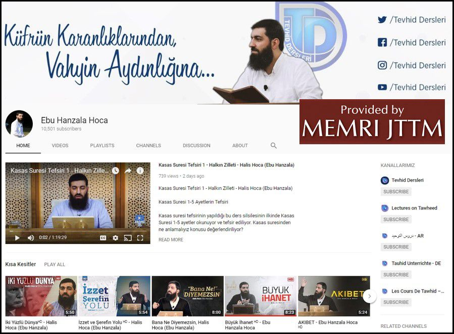 GFATF - LLL - Turkish Islamic State emir continues to operate through dozens of social media accounts 47