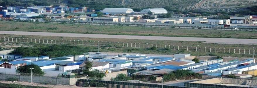Al-Shabaab terrorists shelled the Mogadishu airport