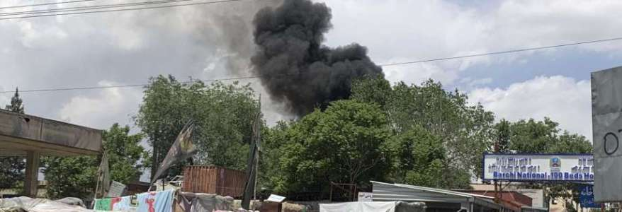 Gunmen stormed a maternity hospital in the western part of the Afghan capital Kabul