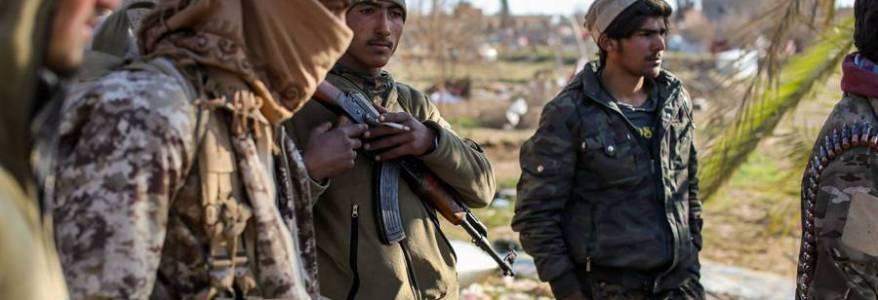 Islamic State terrorists attacked Iraqi soldiers near the Maxmur region