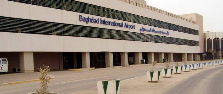 Three rockets fired at the Baghdad International Airport