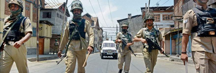 Children as young as fourteen are being used by the terrorists in Jammu and Kashmir