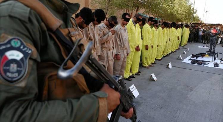 Iraqi forces captured twelve terror suspects in suburb of Samarra