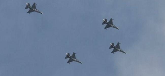 Israeli army targets Hamas infrastructure after terrorists fired rockets