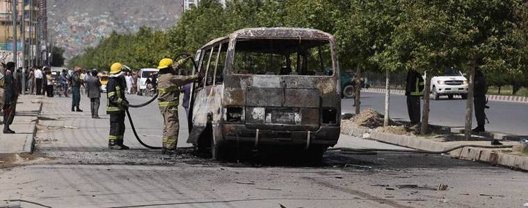 Roadside bomb in southern Afghanistan killed nine passengers on a bus
