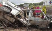 Roadside bomb killed nine and injures eight people in Somalia