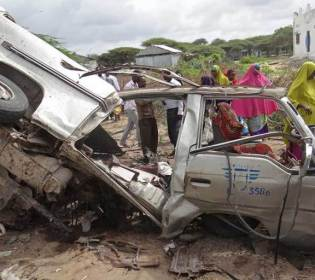 GFATF - LLL - Roadside bomb killed nine and injures eight people in Somalia