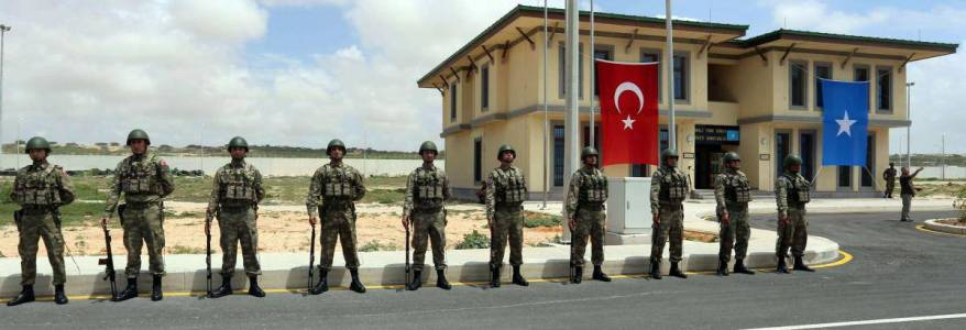 Suicide bomber killed two people at Turkish military base in Somalia