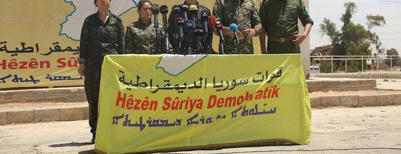 Syrian Democratic Forces detained 110 terror suspects in anti-Islamic State campaign