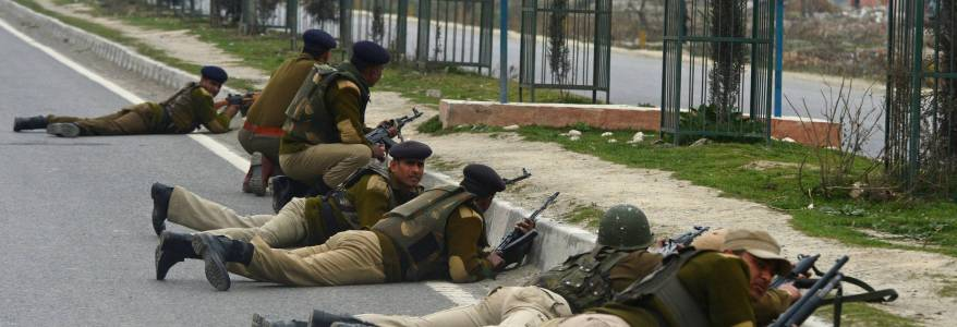Three Hizbul Mujahideen terrorists killed in Srinagar and terrorist duo escape from Kulgam