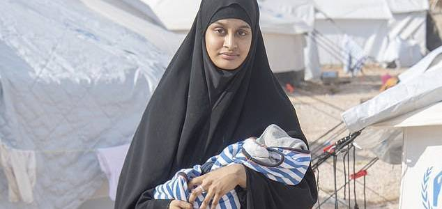 Beheaded aid worker David Haines's daughter says Islamic State bride Shamima Begum is a ticking timebomb