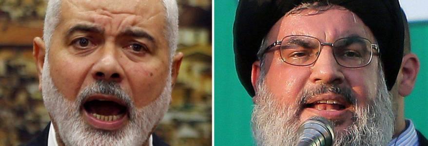 Hamas and Hezbollah terrorist group seek to unite 'Islamic ummah' against Israel