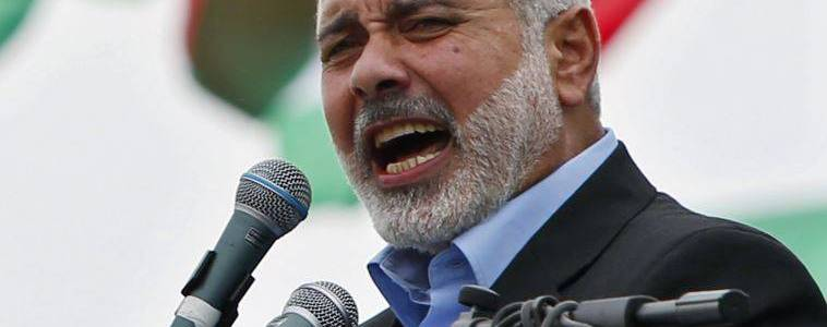 Hamas leader Ismail Haniyeh hails Qatar's support for Palestine