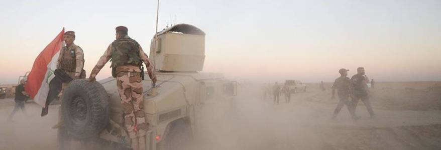 Iraqi security forces killed a terrorist and thwarted drug smuggling attempt