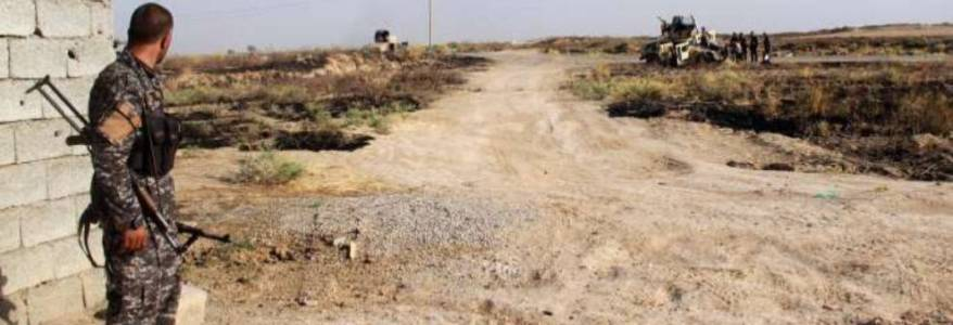 Islamic State terrorists planted Caliphate's flag in Germiyan