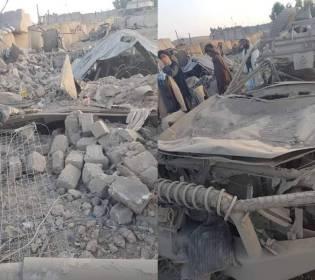 GFATF - LLL - Taliban truck bomb kills two and wounds fifteen people in Kandahar