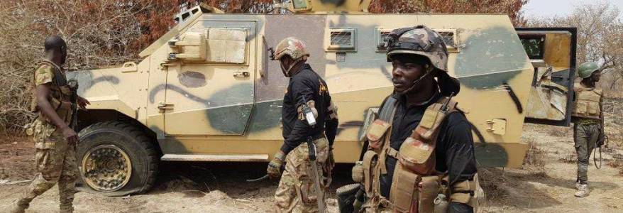 Terrorists killed ten Nigerian soldiers in the country's restive northeast