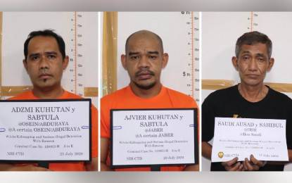 Three Abu Sayyaf terrorists detained in joint anti-terror operations