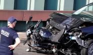 Berlin man crashed car into motorbikes shouting 'Allahu akbar'
